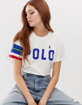 Polo Ralph Lauren logo t-shirt with sleeve panel