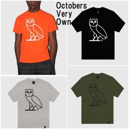 NEW*OCTOBERS VERY OWN*Drake*OWL*ロゴ Tシャツ