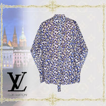 Louis Vuitton(ルイヴィトン) Chemise cape ケープブラウス