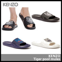 【KENZO ケンゾー】Tiger pool mules 5SD104 P60