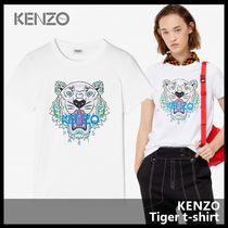 【KENZO ケンゾー】Tiger t-shirt 2TS721 4YB 01
