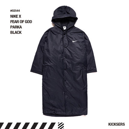 人気話題!NIKE X FEAR OF GOD PARKA BLACK