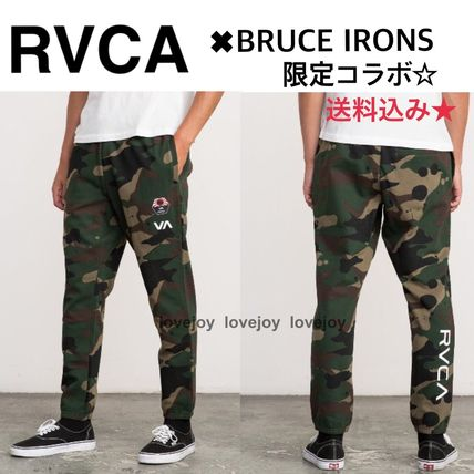 完売前に☆RVCA/BRUCE IRONS SWIFT SWEATPANT 限定コラボ