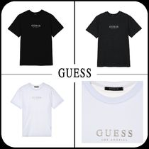 [GUESS] ★2019SS NEW★ UNISEX GUESS Simple ロゴ Tシャツ