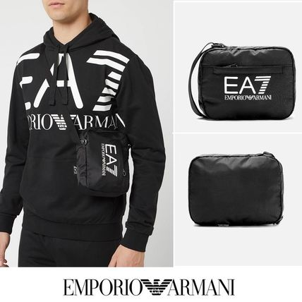 EMPORIO ARMANI EA7★ポーチバッグ☆クロスボディバッグ☆黒