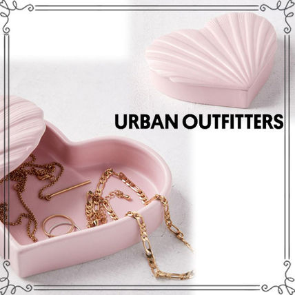 ☆Urban Outfitters ハートシェル*ジュエリーケース☆送関込