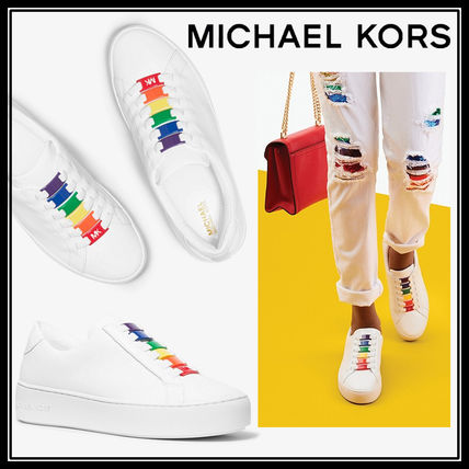 MICHAEL KORS Cameron Leather Sneaker カメレオン 関税送料込み