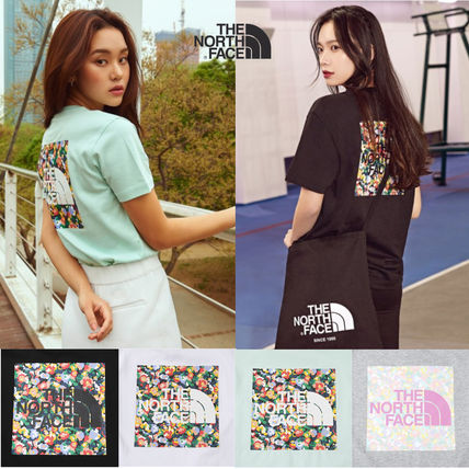 THE NORTH FACE Tシャツ・カットソー THE NORTH FACE☆FLORAL S/S R/TEE☆