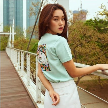 THE NORTH FACE Tシャツ・カットソー THE NORTH FACE☆FLORAL S/S R/TEE☆(12)