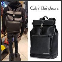 ★Calvin Klein★Smooth Essential Backpack★Black★