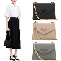 PR2024 PRADA MONOCHROME SAFFIANO LEATHER BAG
