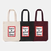 have a good time★FRAME TOTE BAG トートバッグ (全4色)