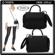 【TOD'S】Wave Bag Charm BLACK 関税・送料込