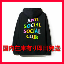 国内発稀少Anti Social Social Club ASSCRainbow パーカーHoodie