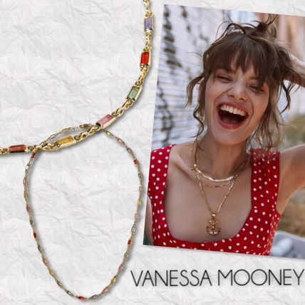 LA発!【 Vanessa Mooney 】THE DIVINE GEMSTONE NECKLACE