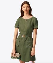 Tory Burch LINEN SHIFT DRESS