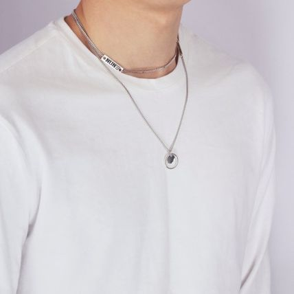 NONENON ネックレス・チョーカー 2点セット [NONENON] WIDTH PENDENT + NEW LOGO NECKLACE(2)