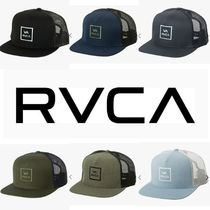 あのベッカムも愛用★RVCA★VA all the way trucker hat III