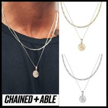 Chained & Able★フィガロレイヤー メダル ネックレス 送料込
