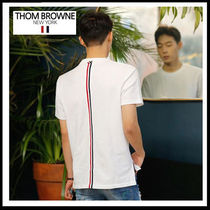 THOM BROWNE(トムブラウン) Tシャツ・カットソー (トムブラウン) THOM BROWNE BACK STRIPE T MJS056A 00050