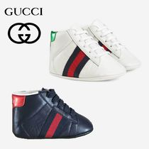 GUCCI Baby Ace leather sneaker グッチ エース ベビーシューズ