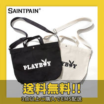 ★SAINTPAIN X PLAYBOY★ OG LOGO CROSS 2WAY BAG
