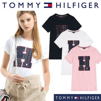 Tommy Hilfiger Tシャツ・カットソー Tommy Hilfiger正規品★Cotton Graphic T-shirt(3色)★在庫少量