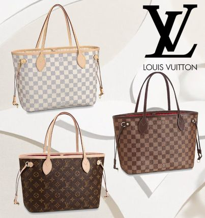 a30d23fb5216 Louis Vuitton トートバッグ Louis Vuitton ルイヴィトン ネヴァーフル PM モノグラム ダミエ ...