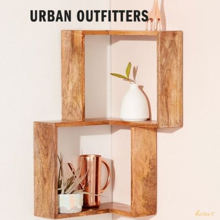 Urban Outfitters 棚・ラック・収納 米国発☆Urban Outfitters☆Maggieコーナーウォールシェルフ