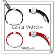 ■Louis Vuitton■人気■LV SPACE BRACELET ■Black / Red