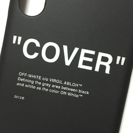 Off-White スマホケース・テックアクセサリー OFF-WHITE BLACK QUOTE iPhone case(2)