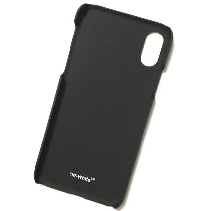 Off-White スマホケース・テックアクセサリー OFF-WHITE BLACK QUOTE iPhone case(3)