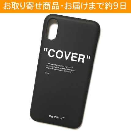 Off-White スマホケース・テックアクセサリー OFF-WHITE BLACK QUOTE iPhone case