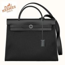 NEW HERMES◆HERBAG ZIP 31 BLACK◆