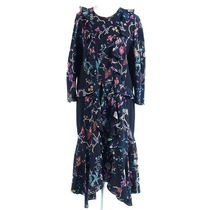 【ETRO】fit-and-flare サイド切り替えドレス[RESALE]