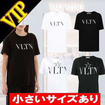 ◆◆VIP◆◆ VALENTINO  VLTN  Logo ロゴ  Cotton  T-shirt