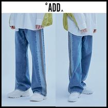 ☆ADD☆ デニムパンツ UGLY LONG WIDE DENIM