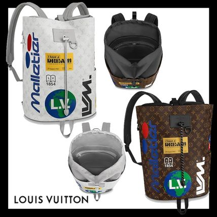 Louis Vuitton★モノグラム チョーク・バックパック 2色展開