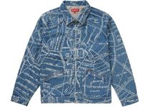 Supreme シュプリーム Gonz Map Work Jacket SS 19 WEEK 14