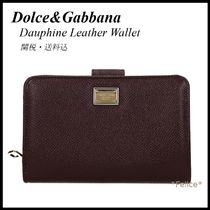 *Dolce&Gabbana*Dauphine Leather Wallet 関税/送料込