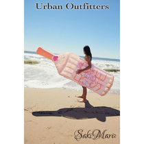 ★Urban Outfittersインスタ映え Glitter Rose Pool Float/Pink
