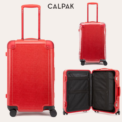 CALPAK スーツケース 【CALPAK】スーツケース CARRY-ON キャリー Jen Atkin RED