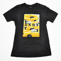 DKNY(ディーケーエヌワイ) Tシャツ・カットソー DKNY/Yellow CabフォトプリントTEE BIG SIZE&SMALL SIZE