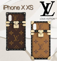 Louis Vuitton ルイヴィトン iPhone X XS アイ・トランク 2色