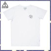 RonHerman取扱*CATCH SURF*STAMP LOGO S/S TEE - WHITE* Tシャツ