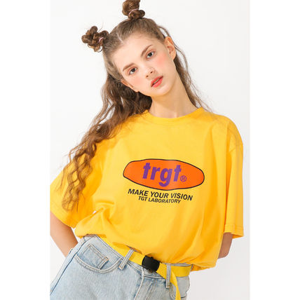 TARGETTO SEOUL Tシャツ・カットソー TARGETTO正規品★全3色★TRGT ロゴTシャツ(14)