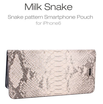 iPhone・スマホケース iPhone6s ケース snake pattern Diary stock sales(2)