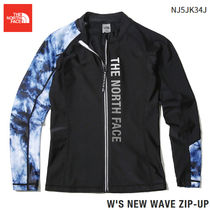 THE NORTH FACE★ W'S NEW WAVE ZIP-UP RASHGUARD  3カラー