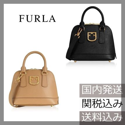 【国内発送】FURLA Fantastica Mini Dome Satchel Bag