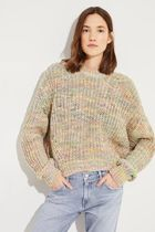 ACNE Zora chunky space dyed sweater マルチストライプニット
